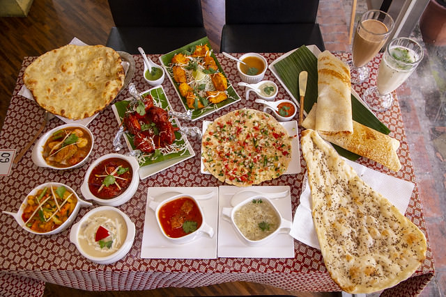 [食記] 原來印度料理不僅只有烤餅跟咖哩的台中斯里頂級印度餐廳